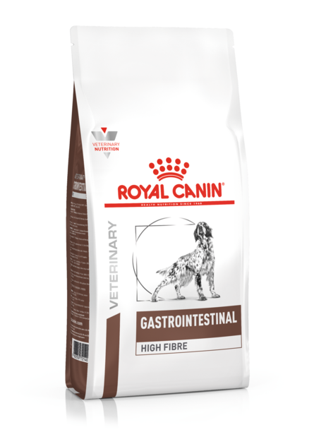 Royal Canin High Fibre Сухой лечебный корм для собак при заболеваниях ЖКТ – интернет-магазин Ле'Муррр